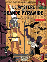Blake et Mortimer - Le Mystère de la Grande Pyramide T1 / 4 【フランス語版】