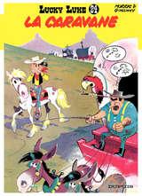 Lucky Luke - La caravane / 24 【フランス語版】