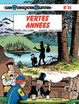 Les Tuniques Bleues - Vertes Années / 34 【フランス語版】