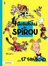 Spirou et Fantasio - 4 aventures de Spirou et Fantasio / 1 【フランス語版】